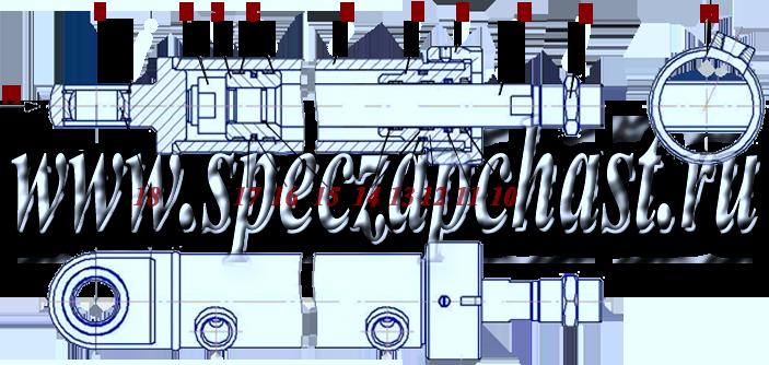 Гидроцилиндр рулевого управления ДЗ-122.06.30.000-01 / 03, купить, заказать