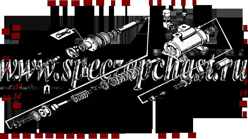 Гидроусилитель тормоза / сцепления 557-1.28.01.000-01, купить, заказать