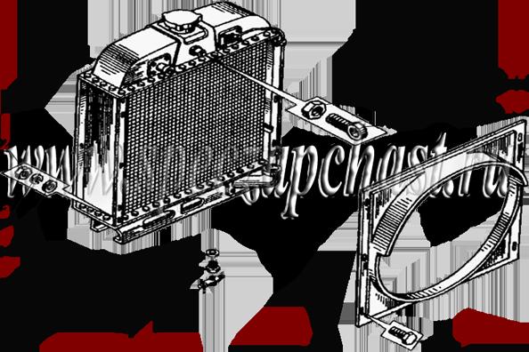 Радиатор водяной М04У.13.003-1, купить, заказать