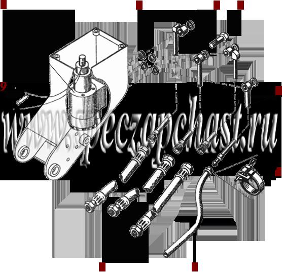 Гидравлическое рулевое управление ДЗ-180