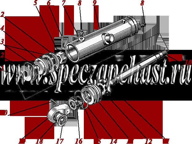 Гидроцилиндр кирковщика ДЗ-180