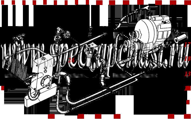 Гидросистема ГМКП У-35.605, ДЗ-180