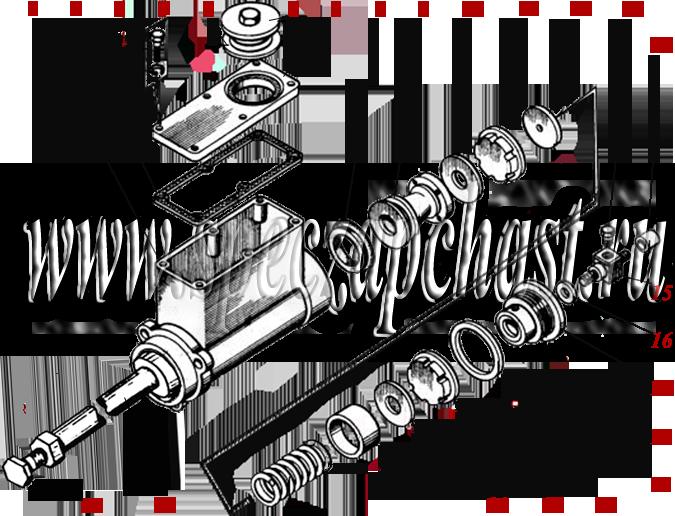 Главный тормозной цилиндр 253.10.01.02.000