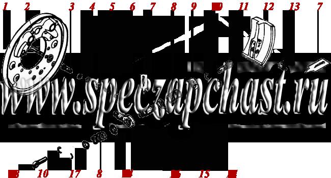 <Разводной механизм ДЗ-180