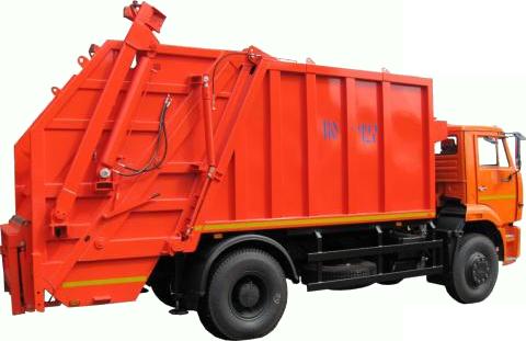 Каталог мусоровозы с задней загрузкой