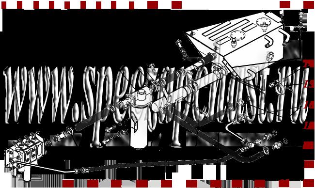 Гидросистема погрузочного оборудования