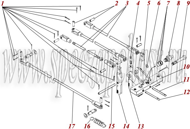 Кабина, управление ТО-30.72.00.000