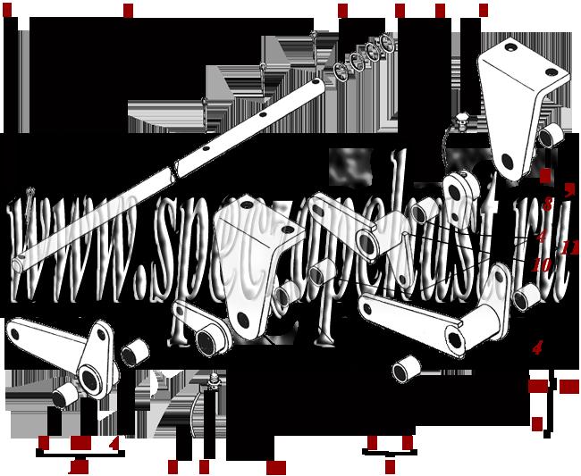Вал ТО-30