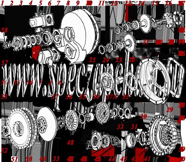 гидротрансформатор ГМКП У35.605 сборе