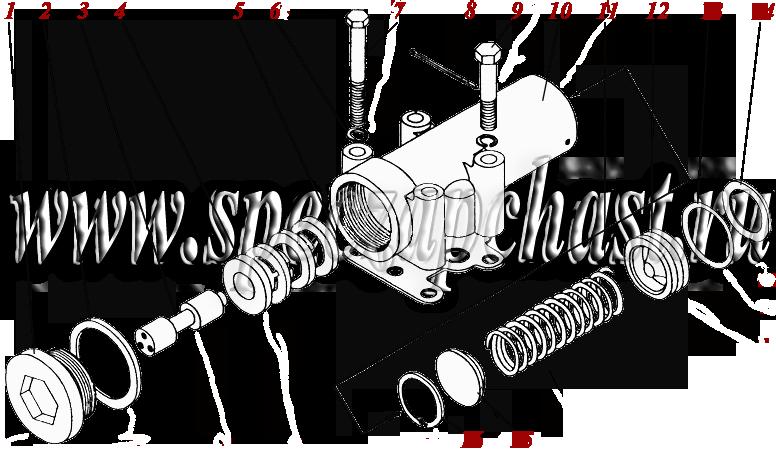 Клапан поддерживающий ГМКП У35.605