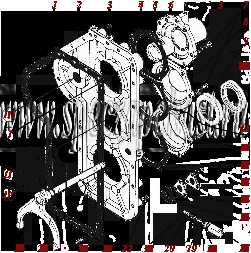 ГМКП У35.605 Крышка картера