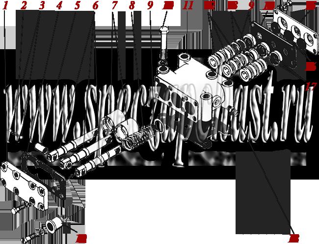Золотник в сборе ГМКП У35.605